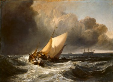 Dutch Boats in a Gale Joseph Mallord William Turner